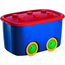 smartboxpro Aufbewahrungsbox Funny Box L, 46 Liter, bunt