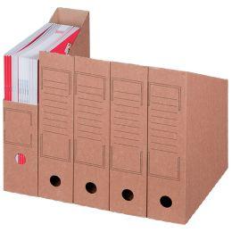 smartboxpro Archiv-Stehsammler, DIN A4, braun