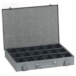 allit Kleinteilekoffer EuroPlus Metall 34/18, grau