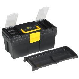 allit Werkzeugkoffer McPlus Promo 16, PP, schwarz/gelb