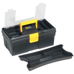 allit Werkzeugkoffer McPlus Promo 12.5, PP, schwarz / gelb