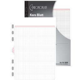 CHRONOPLAN Karo Blatt, Midi, 25 Blatt, 80 g/qm