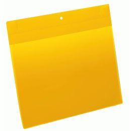 DURABLE Neodym-Magnettasche, DIN A4 quer, gelb