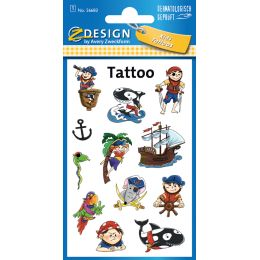 AVERY Zweckform ZDesign Kids Tattoos Piraten