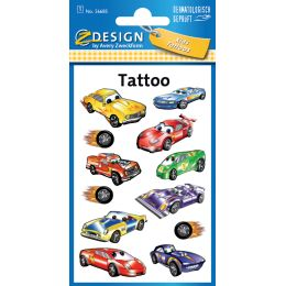 AVERY Zweckform ZDesign Kids Tattoos Autos