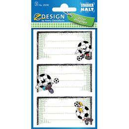 AVERY Zweckform Z-Design Buchetiketten Fußballtor