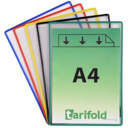 tarifold Sichttafel Standard, DIN A4, farbig sortiert