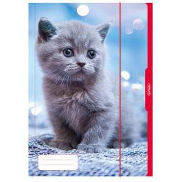 herlitz Zeichnungsmappe Katze, DIN A3