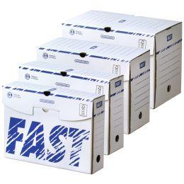 FAST Archiv-Schachtel, 250 x 330 mm, Rückenbreite: 80 mm