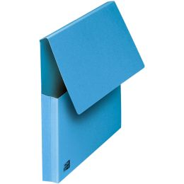 ELBA Dokumententasche, DIN A4, Karton, blau