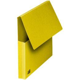 ELBA Dokumententasche, DIN A4, Karton, gelb