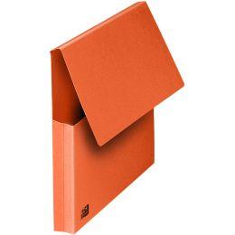 ELBA Dokumententasche, DIN A4, Karton, rot