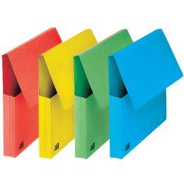 ELBA Dokumententasche, DIN A4, Karton, grün