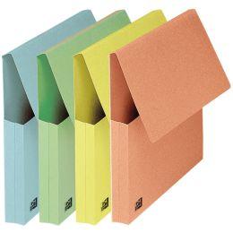 ELBA Dokumententasche, DIN A4, Karton, pastell-gelb