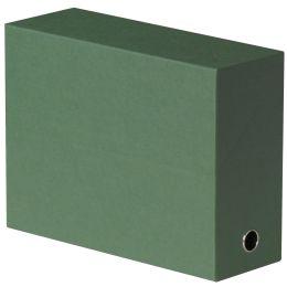 ELBA Dokumentenmappe, aus Wellpappe, dunkelgrün