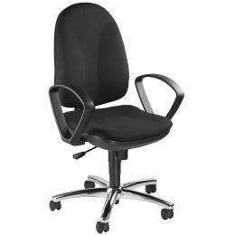 Topstar Bürodrehstuhl Synchro Steel, schwarz