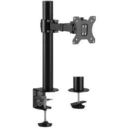 LogiLink TFT-/LCD-Monitorarm, Armlänge: 199 mm, schwarz
