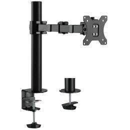 LogiLink TFT-/LCD-Monitorarm, Armlänge: 380 mm, schwarz
