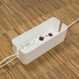 LogiLink Kabelbox big size, Farbe: weiß