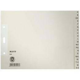 LEITZ Tauenpapier-Register, A-Z, A4 Überbreite, halbe Höhe