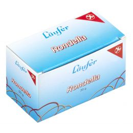 Läufer Gummibänder RONDELLA im Karton, 80 x 2 mm, 50 g