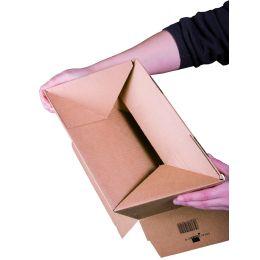 SMARTBOXPRO Blitzbodenkarton, (B)160 x (T)130 mm, SK, braun
