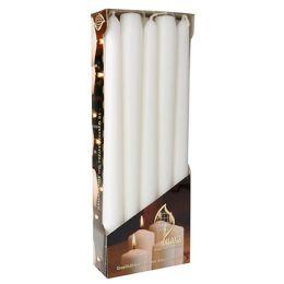 FLAVOUR by Gala Leuchterkerzen, 20 mm, weiß, 10er Pack