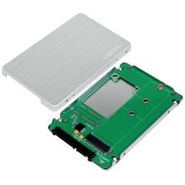 LogiLink 2,5 Externes SSD-Gehäuse für M.2 NGFF SATA