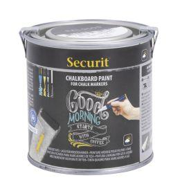 Securit Tafellack PAINT, schwarz, 250 ml