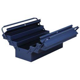 allit Werkzeugkasten McPlus Metall 5/57, unbestückt, blau