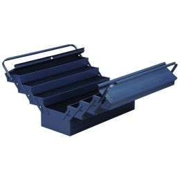 allit Werkzeugkasten McPlus Metall 7/57, unbestückt, blau