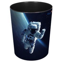 Läufer Papierkorb Astronaut