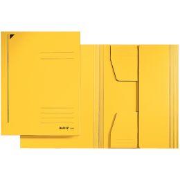 LEITZ Jurismappe, DIN A4, Karton 320 g/qm, gelb