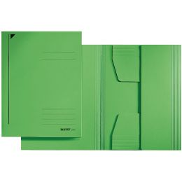 LEITZ Jurismappe, DIN A4, Karton 320 g/qm, grün