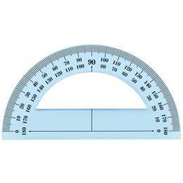 Wonday Halb-Winkelmesser 180 Grad, 120 mm, bruchfest