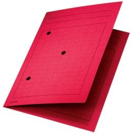LEITZ Umlaufmappe, DIN A4, Manilakarton 320 g/qm, rot