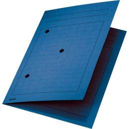 LEITZ Umlaufmappe, DIN A4, Manilakarton 320 g/qm, blau