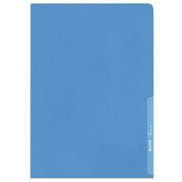LEITZ Sichthülle Standard, A4, PP, genarbt, blau, 0,13 mm