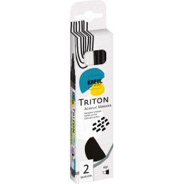 KREUL Acrylmarker SOLO Goya TRITON Acrylic 1.4, 2er-Set