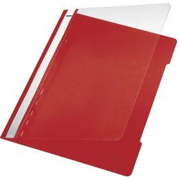 LEITZ Schnellhefter Standard, DIN A4, PVC, rot