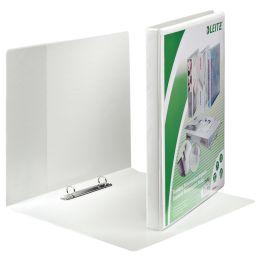 LEITZ Präsentations-Ringbuch, A4 Überbreite, weiß, 2 D-Ring-