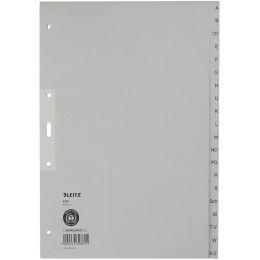 LEITZ Tauenpapier-Register, A-Z, A4 Überbreite, 20-teilig