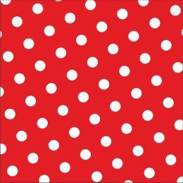PAPSTAR Motivservietten Dots, 330 x 330 mm, rot