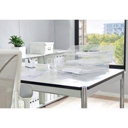LEITZ Briefablage Transparent Plus, DIN A4, glasklar