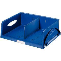 LEITZ Ablagekorb Sorty, DIN A4/C4 quer, blau
