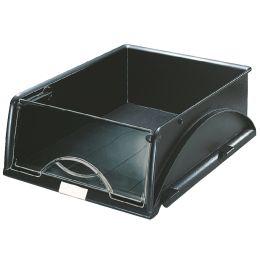 LEITZ Ablagekorb Sorty, DIN A4/C4, schwarz