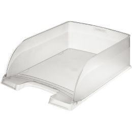 LEITZ Briefablage Plus Jumbo, DIN A4, Polystyrol, silber