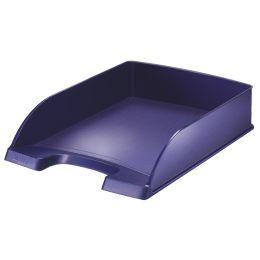 LEITZ Briefablage Style, A4, Polystyrol, titan-blau