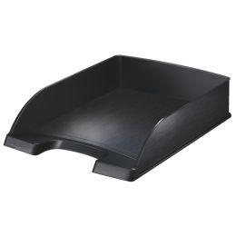 LEITZ Briefablage Style, A4, Polystyrol, satin-schwarz