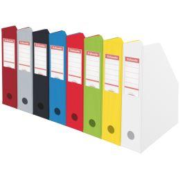 Esselte Stehsammler VIVIDA, DIN A4, Pappe, rot, (B)70 mm